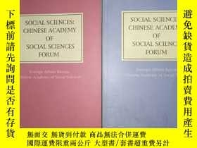 二手書博民逛書店SOCIAL罕見SCIENCES: CHINESE ACADEM