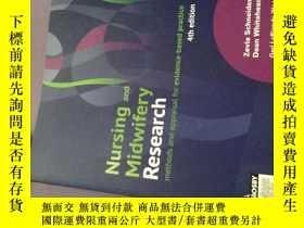 二手書博民逛書店英文原版nursing罕見and midwifery research methods and appraisal