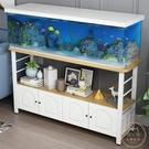 魚缸架 魚缸底柜底座定做客廳小戶型水族箱草魚缸架子金屬鐵藝歐式魚缸柜【限時82折】