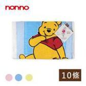 non-no儂儂褲襪《10入》維尼印花童巾-HPW216