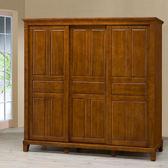 【Homelike】亞倫7x7尺實木衣櫥