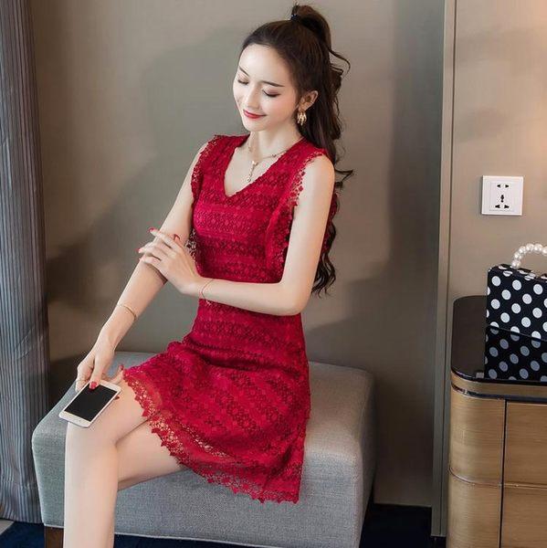 特價促銷不退不換!洋裝9928#實拍新款小個子秋季顯瘦連身裙GT2F265-F紅粉佳人