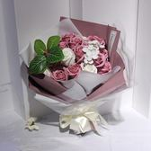 【好康618】仿真香皂花禮盒玫瑰花假花肥皂花束禮物