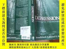 二手書博民逛書店罕見英文原版;DEPRESSION【16開】Y19651 不祥