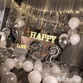 派對裝飾品-生日快樂女孩派對趴體裝飾場景氣球創意浪漫主題背景墻布置套餐 糖糖日繫
