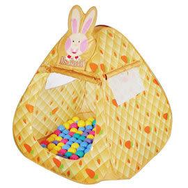 親親 可愛兔帳篷歡樂折疊遊戲屋 球屋+送100顆彩色遊戲球 CBH-12