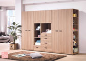 諾拉系統9.3尺衣櫥 大特價37100元【阿玉的家 2018】新品搶先