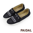 Paidal Globetrotting鉚釘休閒鞋樂福鞋懶人鞋