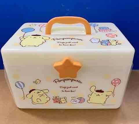 【震撼精品百貨】Pom Pom Purin 布丁狗~三麗鷗收納提盒-星星#64533