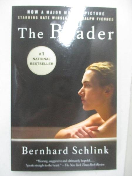 【書寶二手書T4/原文小說_AL4】The Reader (Movie Tie-in Edition)_Schlink, Bernhard