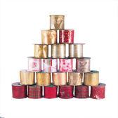 聖誕節 裝飾 佈置 450公分豪華緞帶-混款(隨機出貨)
