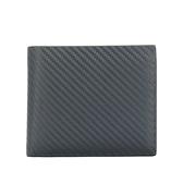 dunhill經典Chassis碳纖維皮革多卡格短夾(夜藍色)257375-1