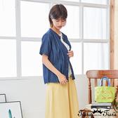 【Tiara Tiara】百貨同步新品aw 胸前小口袋純色襯衫(白/深藍)
