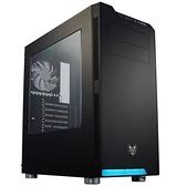 全漢 CMT240B 炫鬥士 黑 顯卡長37.3/CPU高17.9/壓克力透側/上開孔/ATX 機殼【刷卡含稅價】