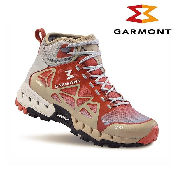 GARMONT 女款GTX中筒越野疾行健走鞋9.81 N.AIR.G. Surround WMS 481039/612 (防水透氣、米其林大底)