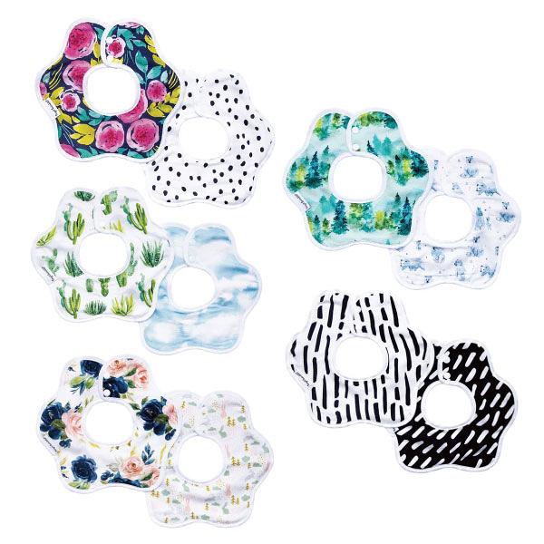美國 tiny twinkle 花型圍兜雙入組(5款可選)