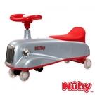 Nuby 兒童平衡扭扭車-復古灰