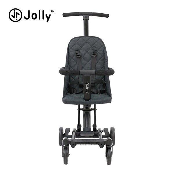 英國 JOLLY 輕便摺疊手推車-黑色 (遛娃神器)