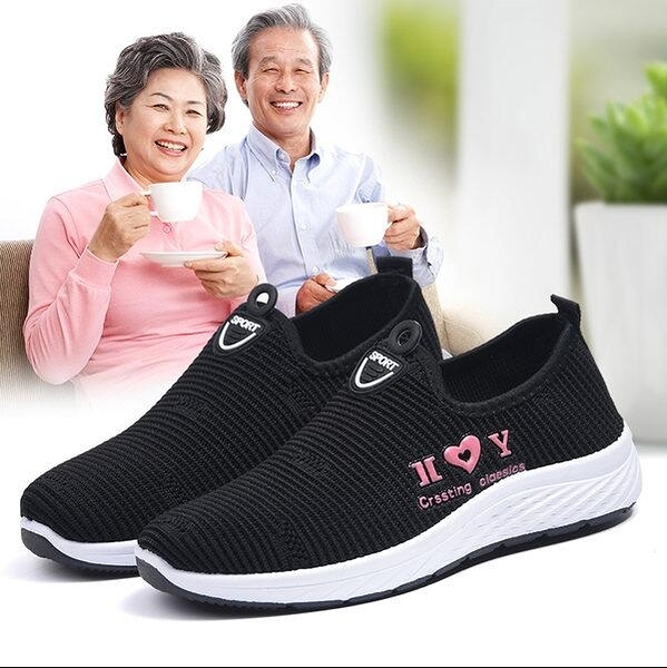 布鞋 老北京布鞋女鞋2020秋季新款中老年媽媽鞋休閒鞋軟底舒適防滑透氣