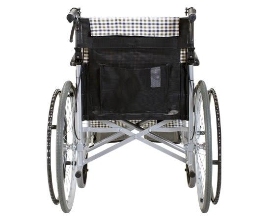 康揚 KARMA SM-150.2_ 手動鋁合金輪椅_ 入門基本款 冬夏兩用 可折背