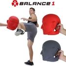 【BALANCE 1】拳擊武術練習用人頭標靶(泰拳 跆拳道 空手道)-紅