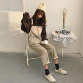 春裝女裝韓版寬鬆燈芯絨背帶褲哈倫褲~