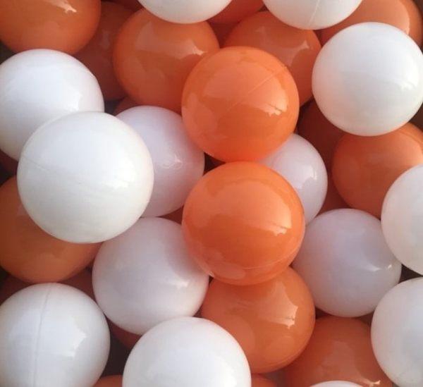 *粉粉寶貝*台灣製~超限量限定款橘色遊戲彩球~100球~球池專用球~海洋球(球屋專用波波球)