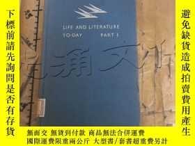 二手書博民逛書店LIFE罕見AND LITERATURE TO-DAY-PART