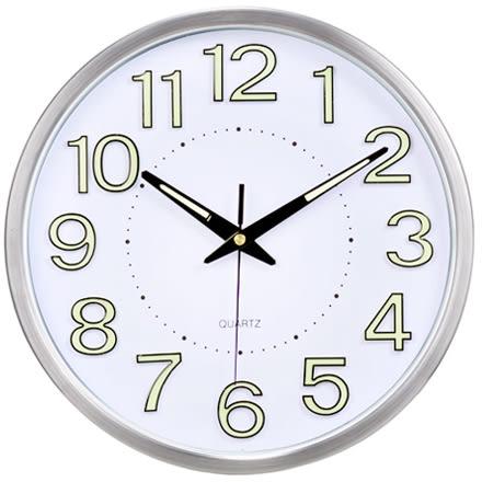 掛鐘客廳靜音夜光掛錶創意鐘錶時鐘臥室現代石英鐘牆鐘掛鐘HD【快速出貨】