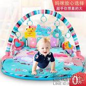 嬰兒健身架器腳踏鋼琴寶寶0-1歲新生玩具0-3個月益智音樂早教6-12