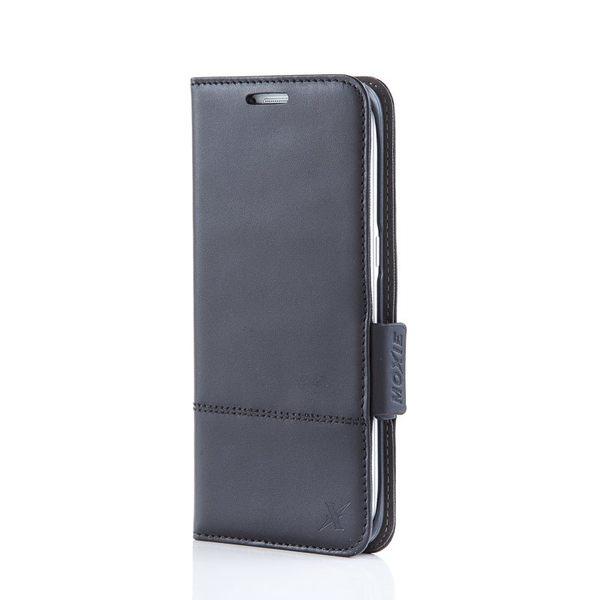 X-SHELL Samsung S7 edge 防電磁波真皮手機皮套 (旗艦黑)