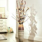 雙十二狂歡 落地花瓶仿真花客廳歐式創意大號居家大廳復古干花插花擺件大花瓶 艾尚旗艦店