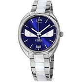 FENDI 芬迪 Momento Bugs小怪獸手錶-藍x銀/40mm F216033004D1