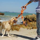 狗狗大號玩具咬繩耐咬磨牙繩結磨牙繩薩摩耶拉布拉多大型犬磨牙棒