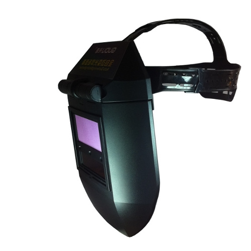 變光電焊面罩焊帽太陽能焊工頭盔氬弧焊氣保自動變光焊接頭盔 樂事館新品