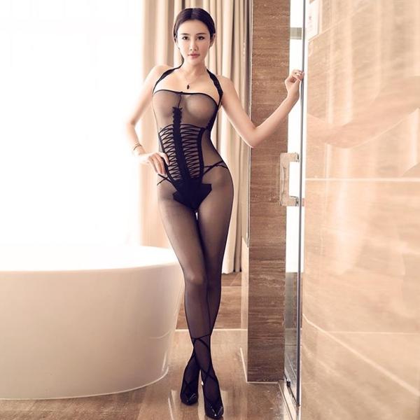 情趣絲襪女士性感誘惑連體絲襪吊帶超薄連體衣迷人透明   新年下殺