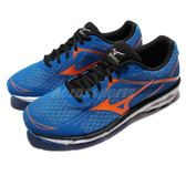 美津濃 Mizuno Wave Unitus 3 SW 超寬楦 藍 橘 運動鞋 慢跑鞋 男鞋【PUMP306】 J1GC172354