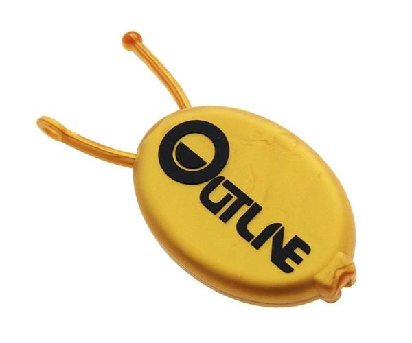 【OUTLINE】Round Shape Case Gold 飛鏢配件 DARTS