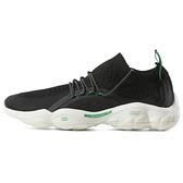Reebok Dmx Fusion [CN3601] 男 慢跑鞋 運動 休閒 襪套 編織 透氣 緩震 活氣墊 黑綠