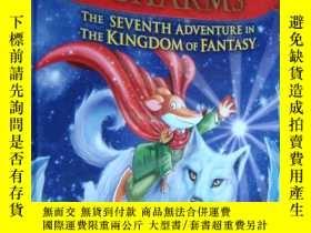 二手書博民逛書店英文原版罕見The Enchanted Charms: The Seventh Adventure in the
