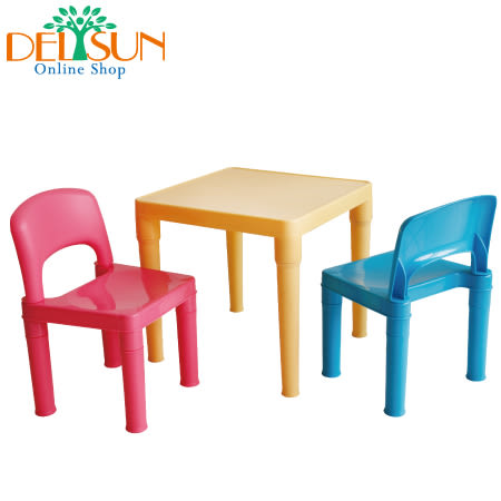 DELSUN 8101BP 兒童桌椅組– 小王子