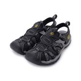 LOTTO 護趾排水運動涼鞋 灰 LT8AMS6110 男鞋 鞋全家福