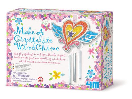 【4M】美勞創作系列 - 水晶珠珠風鈴 Make a Crystalite wind Chime 00-02713