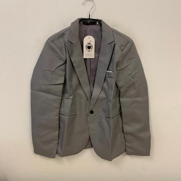 時尚潮流修身復古西裝外套(L號/121-7498)
