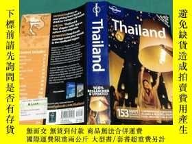 二手書博民逛書店THAILAND罕見153 MAPS DETAILED&EASY