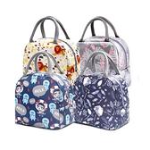 創得飯盒保溫袋便當手提鋁箔包帶飯手拎帆布袋子學生餐盒袋飯盒袋 電購3C
