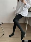 高腰撞色褲頭保暖刷毛內搭褲 Z11395【新年免運】