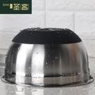 烘焙工具 聖客盆硅膠防滑底盆烘焙工具廚房和面盆烘培不銹鋼盆加深 星河光年