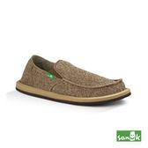 SANUK  復古帆布懶人鞋-男款1015961 BRN(咖啡色)