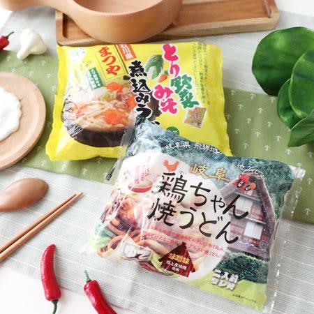 日本 久保田麵業 烏龍麵2食 (附醬包) 烏龍麵 炒烏龍 野菜味噌烏龍麵 雞汁炒烏龍麵 日本烏龍麵